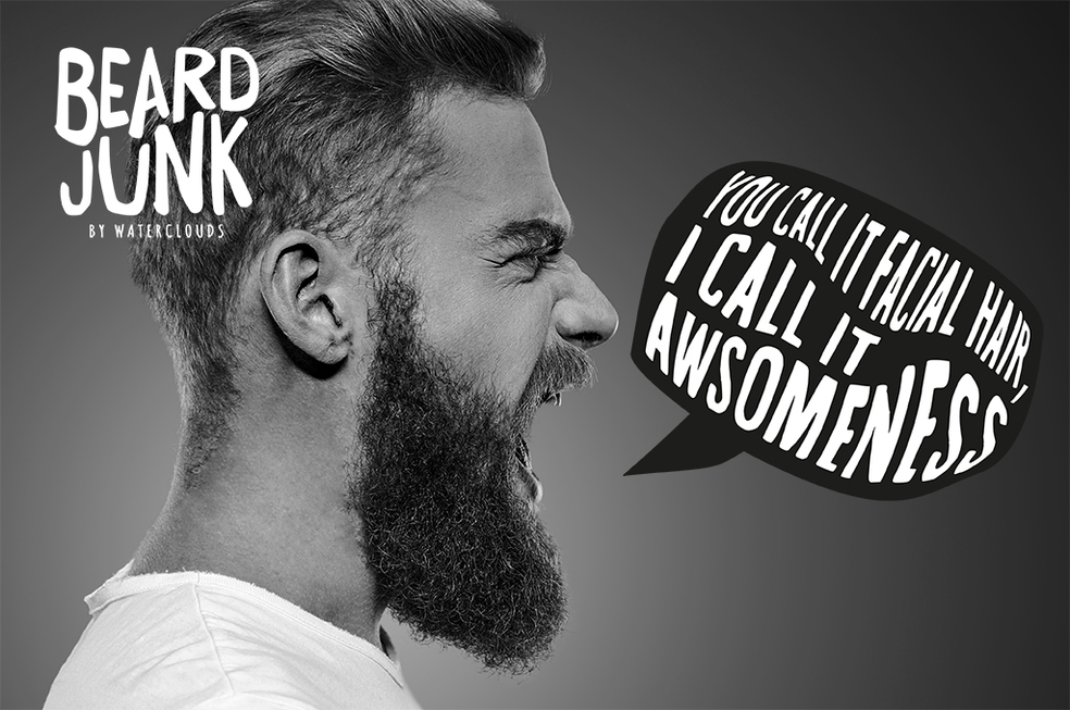 beard junk skäggolja